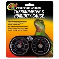 Precision Analog Thermometer & Humidity Gauge