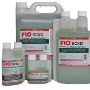 F10SCXD Veterinary Cleaner/Sanitizer