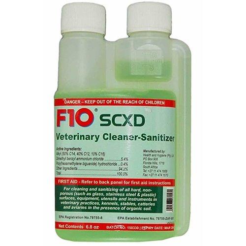 F10SCXD Veterinary Cleaner/Sanitizer