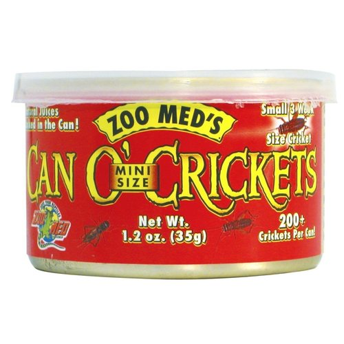 Zoo Med Can O' Crickets Mini Size