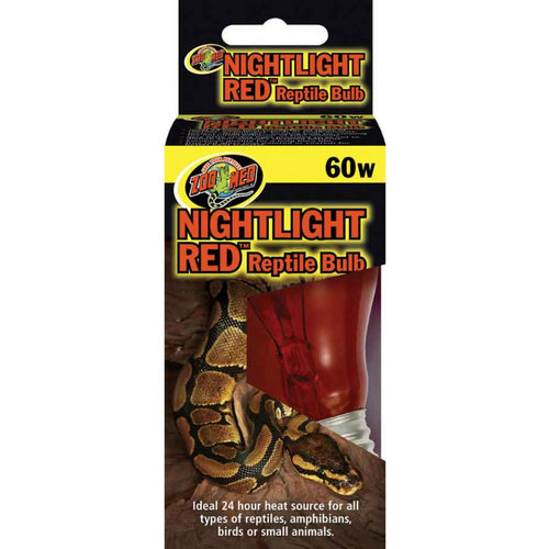 Zoo Med Nightlight Red™ Reptile Bulb