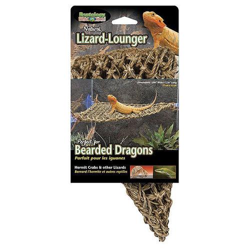 Penn Plax Nautral Lizard Lounger - Corner
