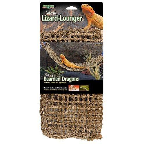 Penn Plax Natural Lizard Lounger - Corner