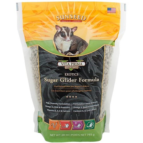 Vitakraft Sunseed, Inc. Sunseed Vita Prima Sunscription Exotics Sugar Glider Formula 28oz