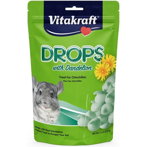 Vitakraft Sunseed, Inc. Chinchilla Dandelion Drops 5.3oz