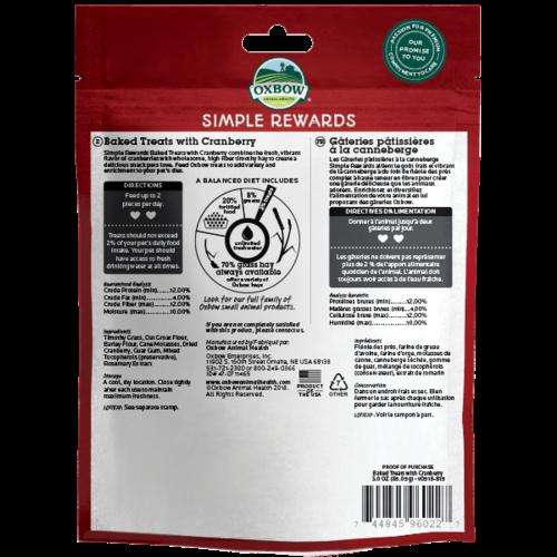 Oxbow Simple Rewards Cranberry 2oz