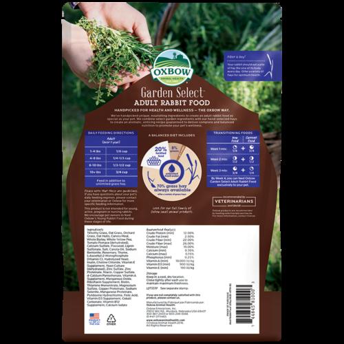 Oxbow Garden Select - Adult Rabbit Food
