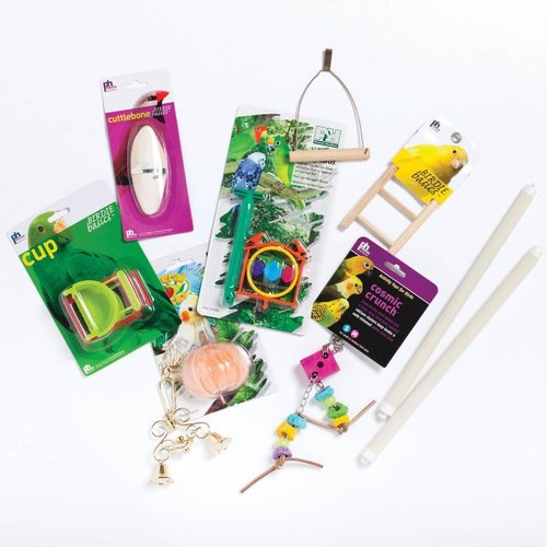 Prevue Pet Products Double Parakeet Bird Cage Kit