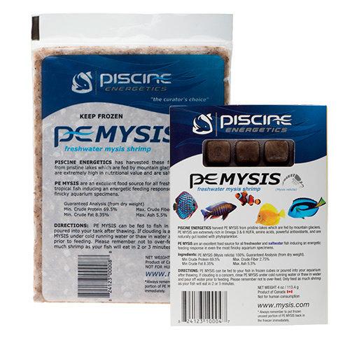 Piscine Energetics (P.E.) Mysis Shrimp
