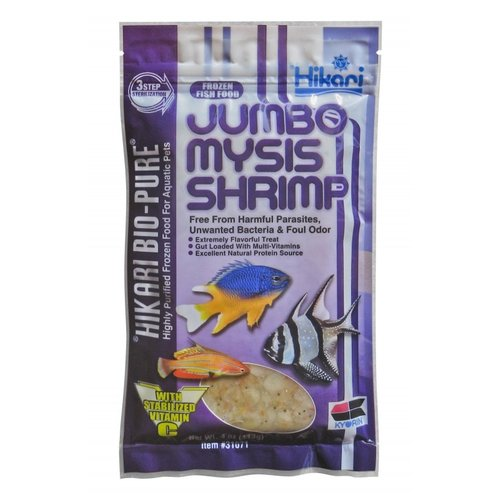 Hikari Frozen Jumbo Mysis Shrimp