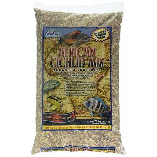 Caribsea, Inc. Caribsea African Cichlid Mix Ivory Coast Gravel