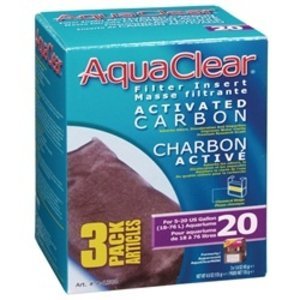 AquaClear Activated Carbon Replacement Filter Cartridge