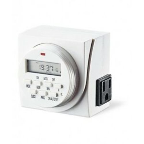 Century 7 Day Digital Timer - Dual Outlet