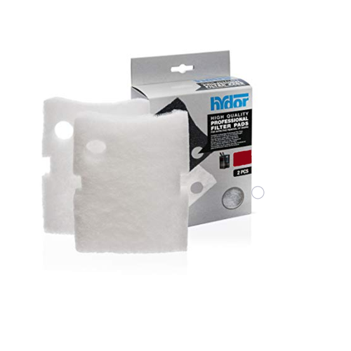 Hydor Professional Canister White Wool Filter Pads