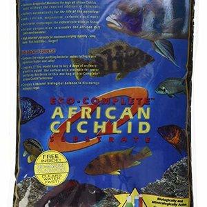 Caribsea, Inc. Caribsea Eco-Complete Cichlid Zach Black