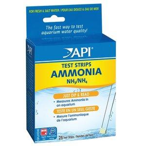 API API Ammonia Aquarium Test Strips