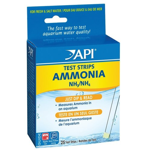 API Ammonia Aquarium Test Strips