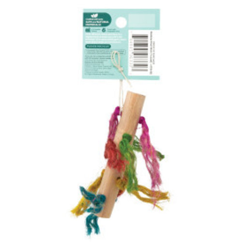 Oxbow Enriched Life Rainbow Knot Stick Small Animal Toy