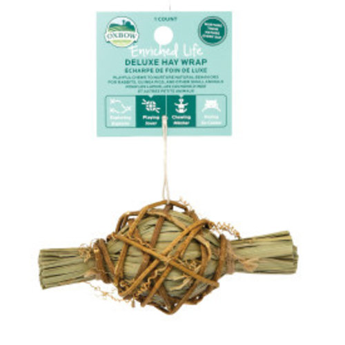 Enriched Life Deluxe Hay Wrap Animal Toy