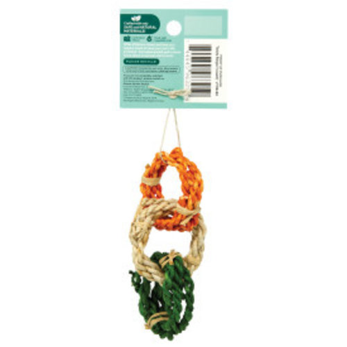 Oxbow Enriched Life Twisty Rings Animal Toy