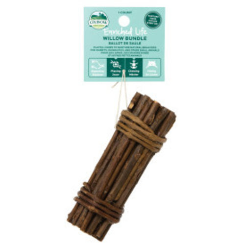 Oxbow Enriched Life Willow Bundle Animal Toy