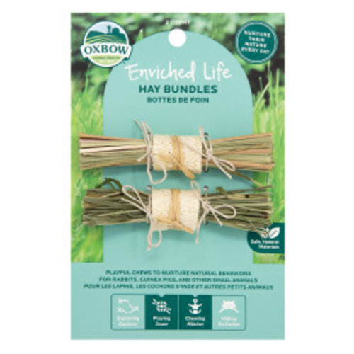 Oxbow Small Animal Enriched Life Hay Bundles