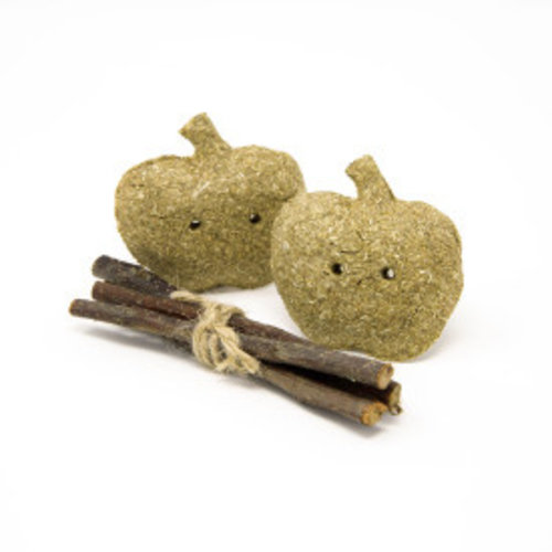 Oxbow Enriched Life Timothy Apples Stix Small Animal Toy