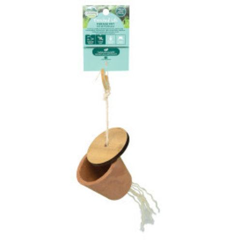 Oxbow Enriched Life Forage Pot Small Animal Toy