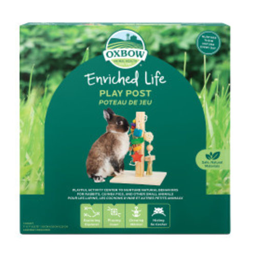 Oxbow Enriched Life Play Post Small Animal Toy