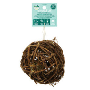 Enriched Life Curly Vine Ball Animal Toy