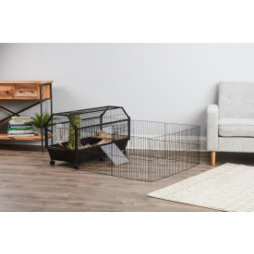 Oxbow Enriched Life Habitat with Play Yard for Small Animals LG