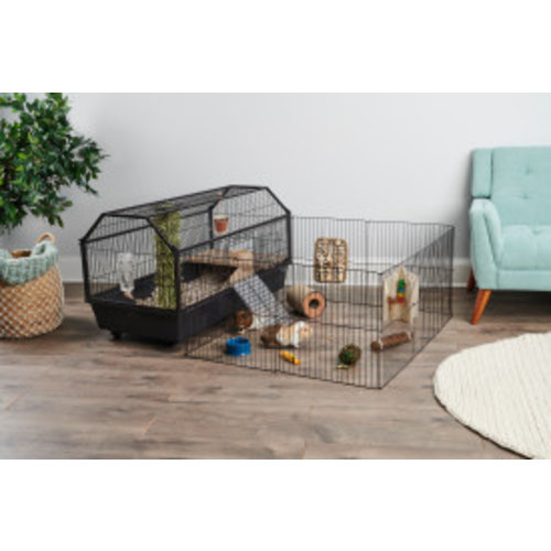 Oxbow Enriched Life Habitat with Play Yard for Small Animals XL