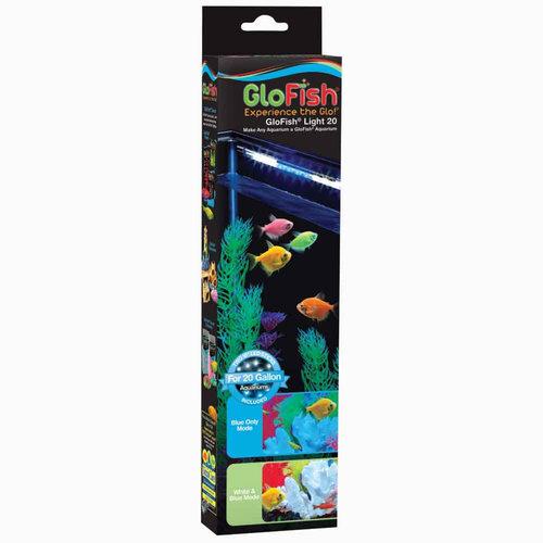 Tetra Glofish LED Light White & Blue Stick