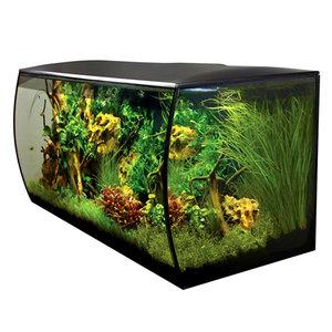 Flex Aquarium Kit - Black - 32.5 Gallon