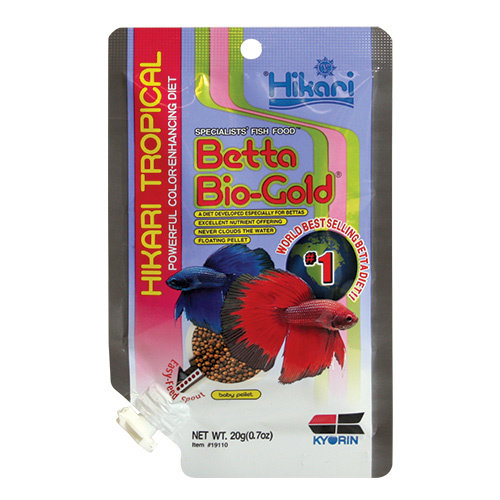 Hikari Betta Bio-Gold Fish Food Pellet