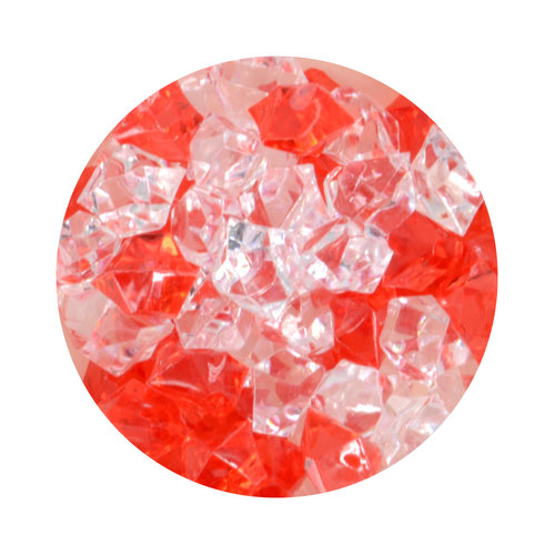 Aqua One Crystal Gems Acrylic Gravel - Fire N Ice - 5 oz (.31 lbs)