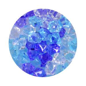 Aqua One Crystal Gems Acrylic Gravel -  Frosty Blue - 5 oz (.31 lbs)