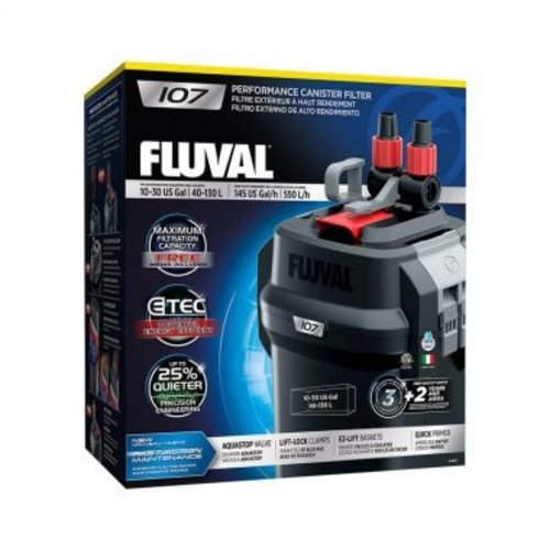 Fluval Performance Series Canister Filter 107 (10-30g)