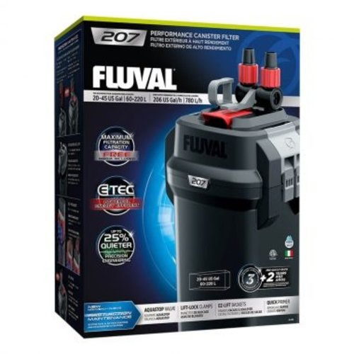 Fluval Performance Series Canister Filter 207 (20-45g)