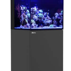 Red Sea Red Sea 170 Black Max E Reef LED Aquarium Kit (37 Gallons)
