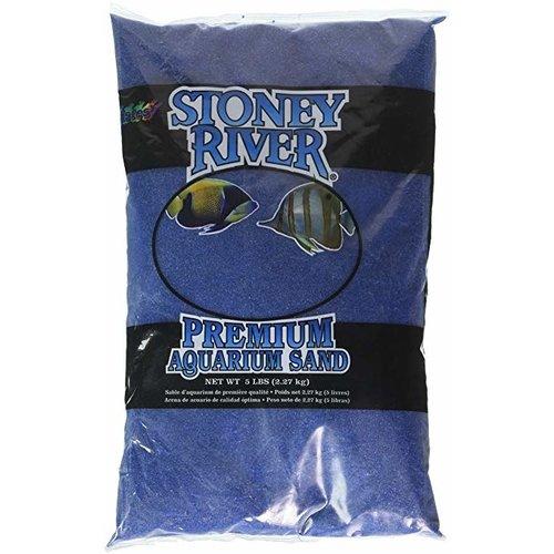 Estes Estes Stoney River Premium Aquarium Sand 5lbs Blue