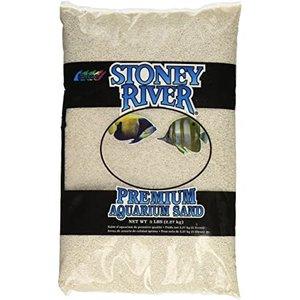 Estes Estes Stoney River Premium Aquarium Sand 5lbs White
