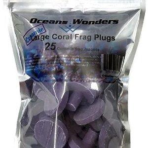 Oceans Wonders Frag Plugs Coralline Purple 25PK