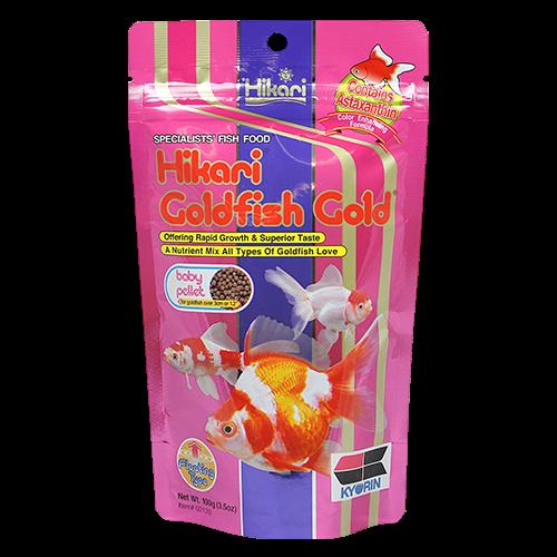 Hikari Baby Goldfish Gold Pellet Food