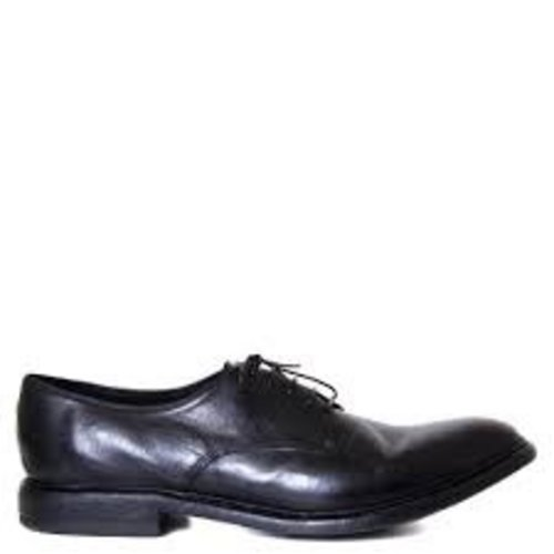 Preventi SMOOTH handmade shoes. Calf leather. Lace up. Size 43. Black.