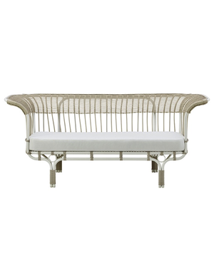 Exterior Exterior Belladonna sofa by Franco Albini. Dove White.