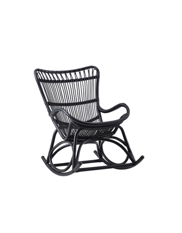 Originals Monet Rocking Chair, Matt Black
