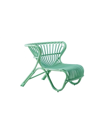 Exterior FOX Lounge Chair - Aluminium Mint Green
