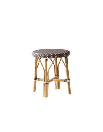 Affaire Simone Stool, Cappucino with White Dot