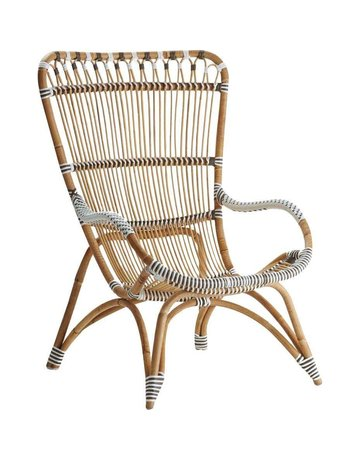 Affaire Chantal Highback Chair, White